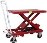 03030138 Wózek platformowy nożycowy PS-BS75 75kg (udźwig: 750 kg)