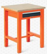 99551597 Stół warsztatowy, 1 szuflada (wymiary: 850-900x725x620 mm)