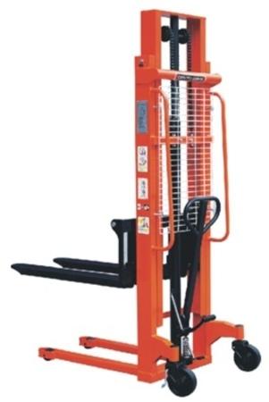 DOSTAWA GRATIS! 00543618 Wózek podnośnikowy ręczny z widłami regulowanymi oraz dodatkowa pompą nożną (udźwig: 1000 kg, min./max. wysokość wideł: 90/3000 mm)