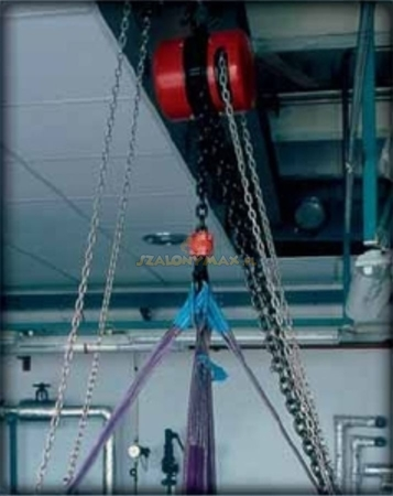 DOSTAWA GRATIS! 2202698 Wciągnik łańcuchowy z przekładnią planetarną Z100/1.6t (wysokość podnoszenia: 5m, udźwig: 1,6 T)