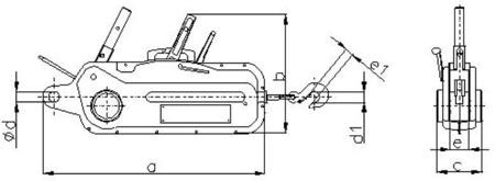 DOSTAWA GRATIS! 2203114 Wciągnik linowy, rukcug 30.11/3.2t (długość liny: 20m, udźwig: 3,2 T)