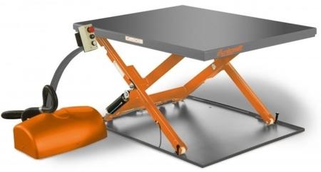 DOSTAWA GRATIS! 32240152 Kompaktowy stół niskiego podnoszenia Unicraft (udźwig: 1000 kg, wymiary platformy: 1450x1140 mm, wysokość podnoszenia min/max: 80/760 mm)