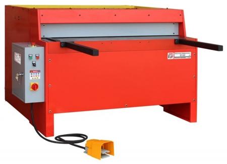 DOSTAWA GRATIS! 44350131 Elektryczne nożyce gilotynowe do blachy Holzmann (max. długość cięcia: 1250 mm, moc: 3 kW)