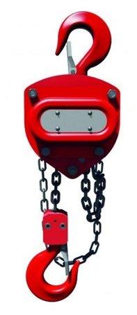 DOSTAWA GRATIS! 9588147 Wciągnik łańcuchowy stacjonarny (udźwig: 0,5 T, wysokość podnoszenia: 3m)