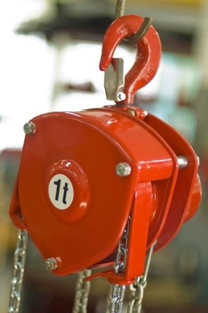 DOSTAWA GRATIS! 9588148 Wciągnik łańcuchowy stacjonarny (udźwig: 1,0 T, wysokość podnoszenia: 3m)