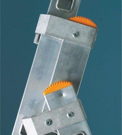 DOSTAWA GRATIS! 99674971 Drabina aluminiowa 3x11 FARAONE AK (wysokość robocza: 7,59m)