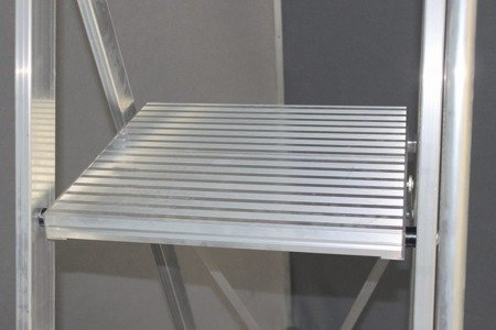 DOSTAWA GRATIS! 99675013 Drabina magazynowa KRAUSE Stabilo z dużym podestem (wysokość robocza: 4,10m)