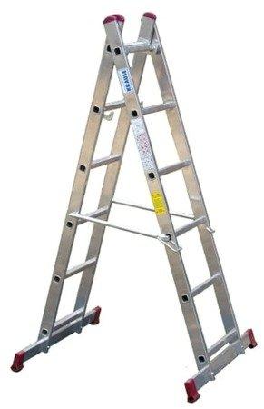 DOSTAWA GRATIS! 99675133 Podest roboczy, drabina, rusztowanie KRAUSE Corda 2x6 (wysokość robocza: 3,00m)