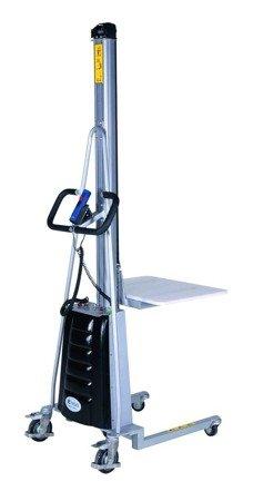 SWARK Wózek podnośnikowy z podestem elektryczny GermanTech (max wysokość: 1700 mm, udźwig: 100 kg) 99724814