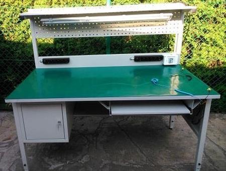 Stół montażowy z nadstawką, 1 szuflada (wymiary: 1600x800x750 mm) 77156979