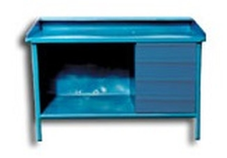 Stół ślusarski, 4 szuflady (wymiary: 1450x800x900 mm) 77156877