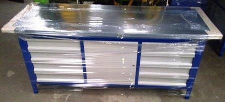 Stół warsztatowy, 1 szafka, 8 szuflad (wymiary: 2000x750x900 mm) 77156985