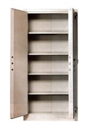 Szafa biurowa wzmocniona, 1 drzwi (wymiary: 2000x900x460 mm) 77157055