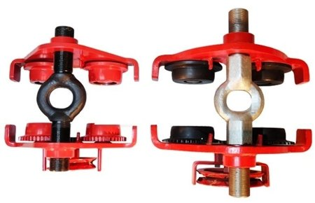 Wózek ręczny jezdny z łańcuszkiem i napędem (udźwig: 3,0 T, szerokość belki jezdnej: 74-200 mm, wysokość łańcucha manewrowego: 3m) 0301437